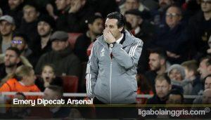Emery Dipecat Arsenal