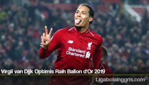 Virgil van Dijk Optimis Raih Ballon d'Or 2019