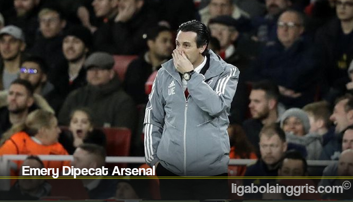 Emery Dipecat Arsenal